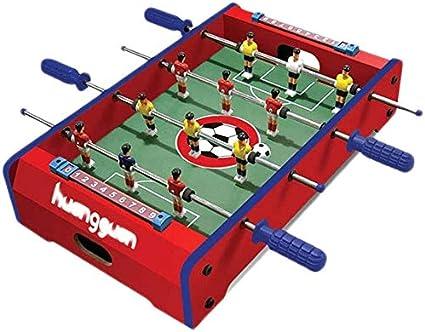 ZZXXB Puzzle Futbolín máquina de Escritorio Doble Juego Interactivo del fútbol de Mesa for niños Juego de Mesa 3-10 años Boy Toy Padres e Hijos Juguete Interactivo Mejor for los niños Judith: