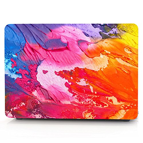 (HRH Gorgeous Color Ink Graffiti Design Laptop Body Shell Protective Hard Case for MacBook New Pro 13 inch with Touch bar A1706 A1989/ Without Touch bar A1708 A1988(2018 2017 2016 Release))
