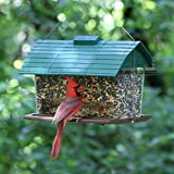 Seed Barn Bird Feeder,