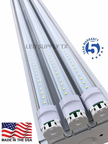 4 Foot 8550 Lumens 66 Watt LED Shoplight Room Work Garage Light Fixture New by PrimeLights
