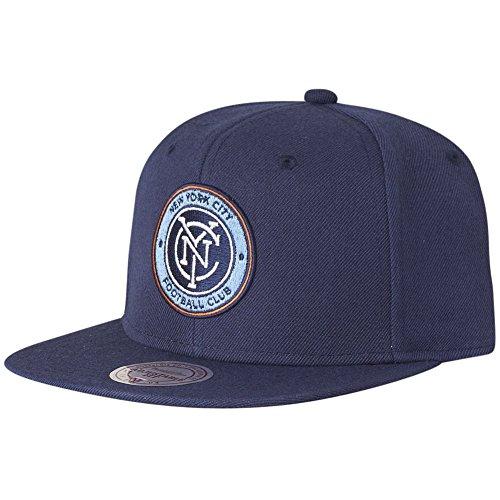 Mitchell & Ness Snapback Cap - SOLID New York City FC navy