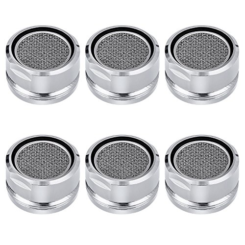 6 PCS Bathroom Faucet Aerator Parts, Male Kitchen Faucet Aerator
