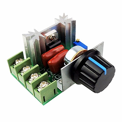 max 25A SCR Constant Voltage AC Motor Speed Controller LED Dimmers Meimotong electronic Ltd CCMAC uniquegoods AC 50-220V 2000W