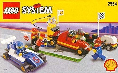 LEGO Shell Promotional Set: Pit Stop Set #2554