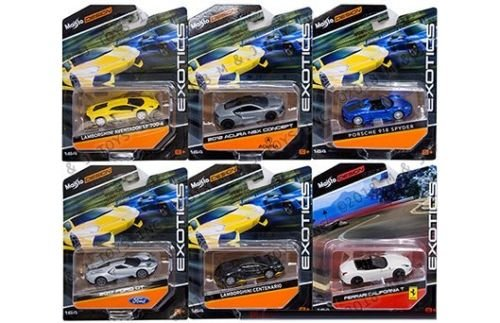 - New 1:64 MAISTO EXOTICS COLLECTION - Exotics 2016