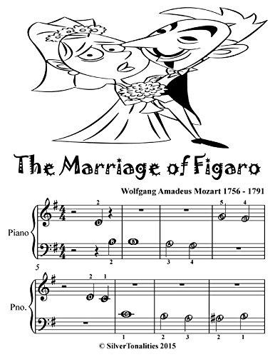 - The Marriage of Fiagaro Beginner Piano Sheet Music Tadpole Edition
