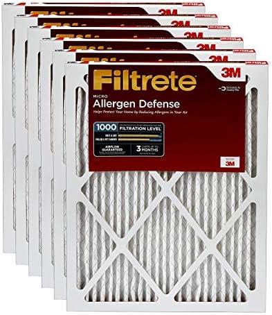 Filtrete 24x30x1 Furnace Allergen Defense