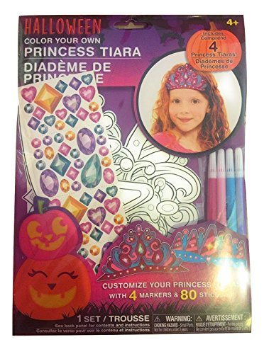 Customize Your Own Halloween Costumes (Kids Create Your Own Halloween Mask Princess Tiara)
