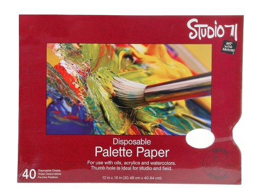 Darice Studio 71 12-Inch-by-16-Inch, 40-Sheet Palette by Darice