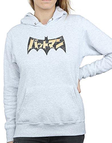 Logo International Comics Dc Gris Cuero Mujer Batman Capucha AHqwwnBP