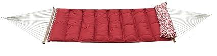 Slack Jack Pillow Top Fabric Hammock (Red)