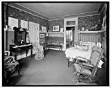 Vintography 8 x 10 Ready to Frame Pro Photo of Residence of Mrs H C Parke Bed Room Detroit Mich 1905 Detriot Publishing 78a