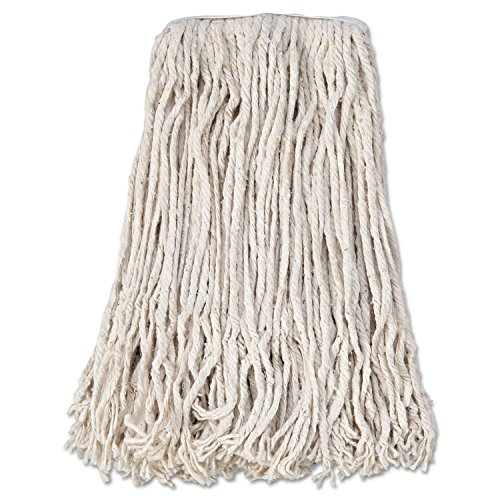 - Boardwalk CM02024S Mop Head, Cotton, Cut-End, White, 4-Ply, 24 Band (Case of 12)