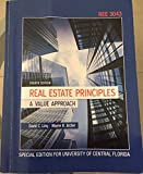 Real Estate Principles A Value Approach Fourth Edition (Special Edition for University of Central Florida), , 0073369594