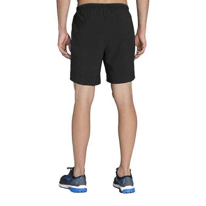 Activewear Modest Brooks Sherpa 5 Inch Mens Running Shorts Grey