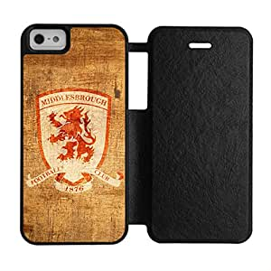 Custom Design With Middlesbrough For Iphone 5 5S Bundle Cover Funny Phone Case For Teen Girls Choose Design 1