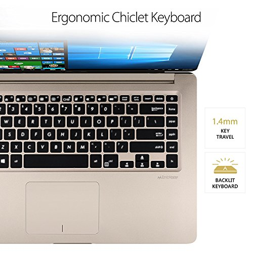 """ASUS VivoBook 15.6"""" Full HD WideView Display Thin and Portable Laptop - Intel Core i7-8550U up to 4.0 GHz, 12GB DDR4, 256GB Solid State Drive, NanoEdge Bezel, NVIDIA GeForce MX130, Windows 10"""