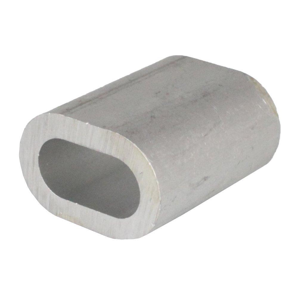 15PZ Press morsetto in alluminio DS = 2X 9mm–DIN 3093Alu morsetto Press Huelsen fune metallica Morsetti Bootsteile Brauer