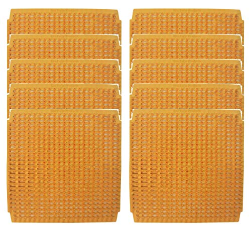 10 PACK OF WASHABLE POLY NESTING BOX PAD MAT BOTTOM FOR CHICKEN COOP HEN HOUSE POULTRY DUCK NEST LINER