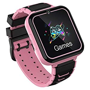 Smart Watch for Kids, Kids Smartwatch Phone for Boys Girls with HD Touch Screen Games Music Player Two-Way Call SOS…