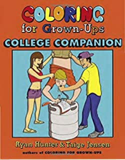 Coloring For Grown Ups College Companion