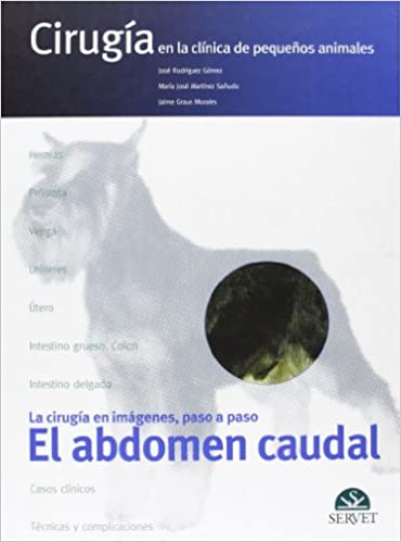 Descargar libros de texto gratis en línea El abdomen caudal. Cirugía en la clínica de pequeños animales 8493473693 PDF