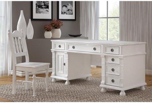 Mesa de escritorio 80/170/70 - de madera maciza de pino - de ...