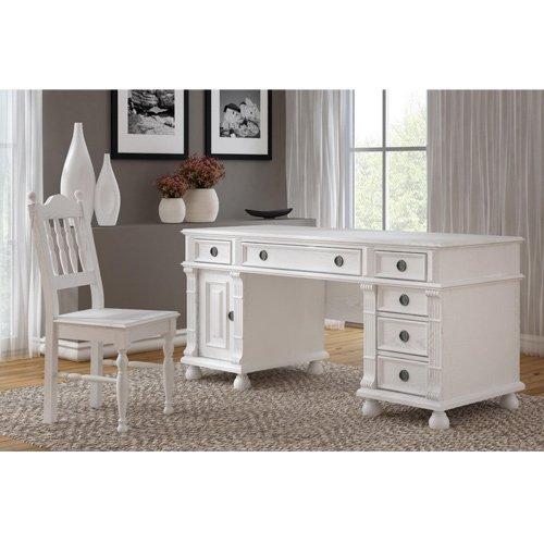 Mesa de escritorio 80/150/70 - de madera maciza de pino - de ...