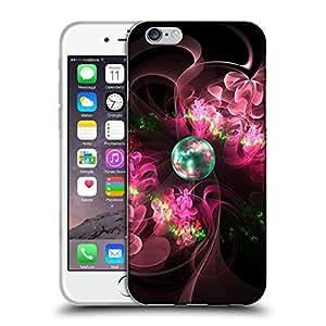"Super Galaxy Coque de Protection TPU Silicone Case pour // V00000433 Fractal Art Flowerings // Apple iPhone 6 6S 6G PLUS 5.5"""