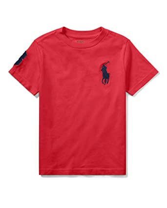 d71212d00 Amazon.com  Ralph Lauren Boys Toddler Polo Big Pony Tee  Clothing