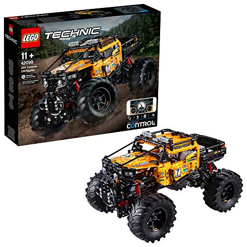 LEGO Technic 4x4 X-treme Off-Roader 42099 Building Kit, New 2019 (958 Pieces) (Best Lego Technic Sets 2019)