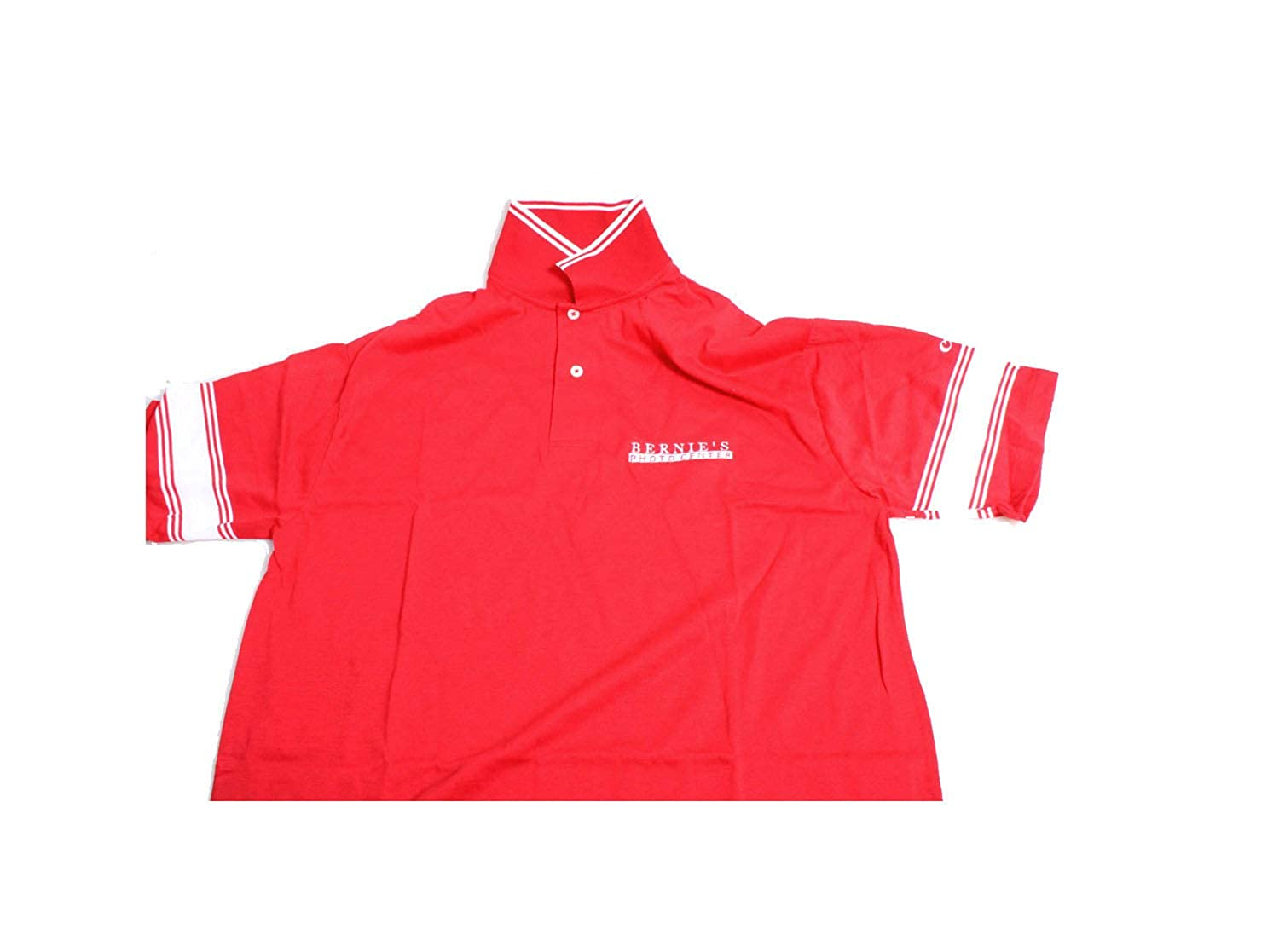Canon Polo Shirt////Short Sleeve////Red Polo Shirt////Large////Business Shirt