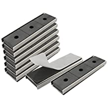 Master Magnetics CA293WAX8 Magnet Fastener, Rectangular with Double-Sided Foam Adhesive Nickel Plated, 3-Inch Length, 0.878-Inch Width, 0.25-Inch Height, 22 Pounds (Pack of 8)