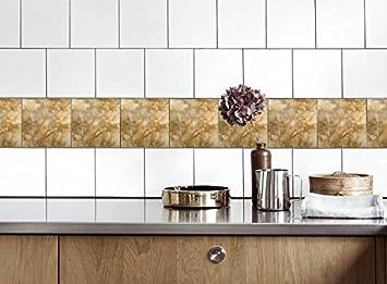 Küche Fliesen Aufkleber Marmor Vinyl Film für Badezimmer Wand ...