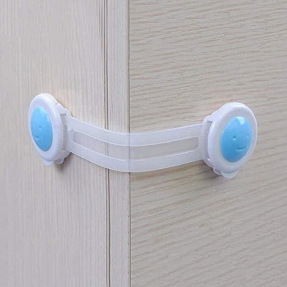 Child Baby Cupboard Cabinet Safety Lock Pet Proofing Door Drawer Fridge Kid