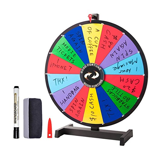 Alice Magic Spinning Wheel Spin to Win Wheel Game for Prize 14 Slots - Recombination for More Possibility (18 inch)