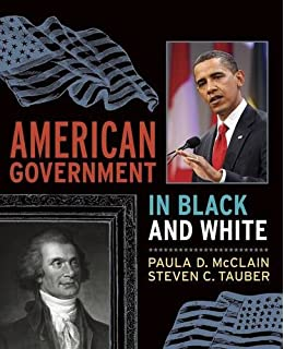American government in black and white paula d mcclain steven c american government in black and white fandeluxe Choice Image