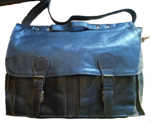 mens-black-soft-leather-laptop-computer-messenger-briefcase-bag