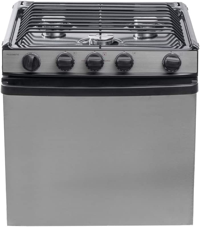 Atwood | Dometic RV Range Oven 3-Burner RV-2135 BSPSN #52254 | 21""