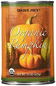 Trader Joe's Organic Canned Pumpkin (1 Can) 15 Oz