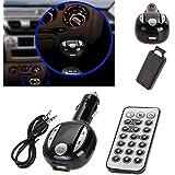Oenbopo New Car Kit Handsfree Wireless Bluetooth FM Transmitter MP3 Player USB SD LCD Remote (BT300)