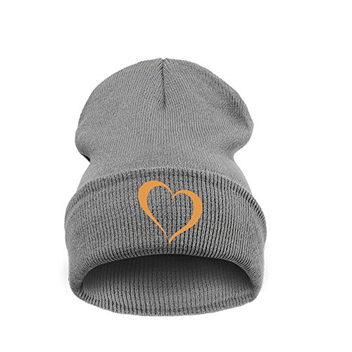 Universal o Gold Tama Grey Men Black Heart Beanie 4sold Nero wqIXO6S