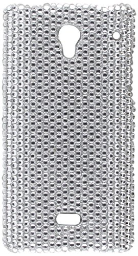 Eagle Cell Sharp Aquos Crystal CS Diamond Case - Retail Packaging - Silver