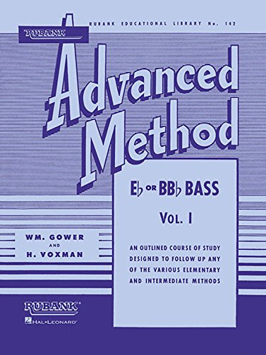 Rubank Advanced Method, Vol. 1 - Bass/Tuba (B.C.) (Rubank Educational Library) ()