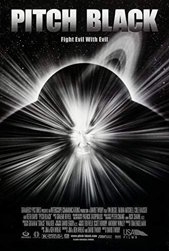 Amazon.com : PITCH BLACK (2000) Original Authentic Movie Poster 27x40 -  Double-Sided - Vin Diesel - Radha Mitchell - Cole Hauser : Everything Else