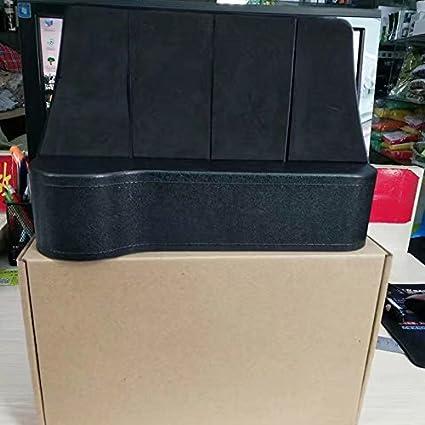 Pouybie Universal Car Slim Seat Gap Filler Seat Side Organiser Vehical Seat Catcher Storage Bag Car Pocket Box Caddy Console Interior Seat Accessories Black