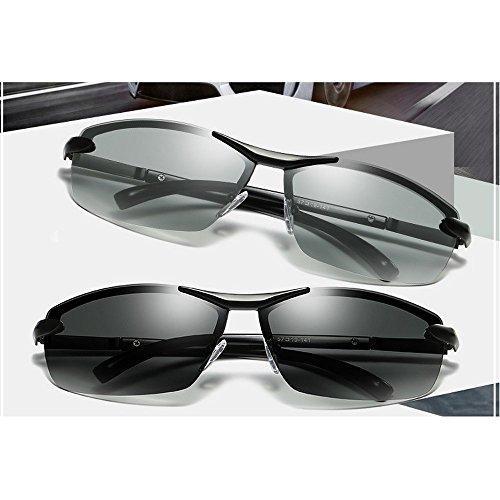 MINCL gun Photochromic Lens Gafas para hombre de sol fwfxqrg