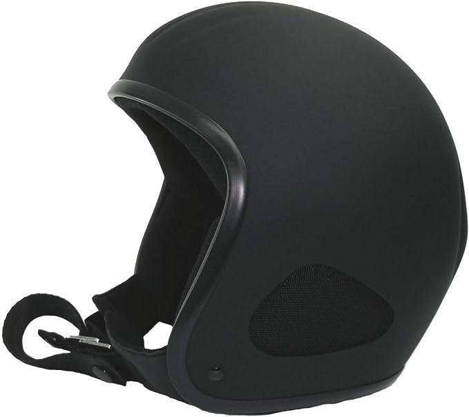 Kulthelm TITAN Jet-Helm Chopper Harley Open Face Matt Doppel-D Verschluss  XL