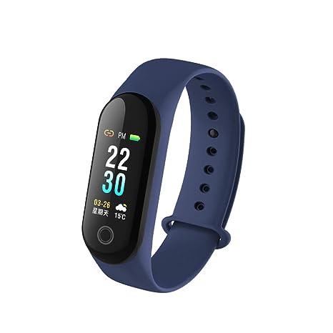 KEMANDUO Pulsera Inteligente-Sleep/Tensiómetro-Pulsera Deportiva-Podómetro Bluetooth-GPS Tracker