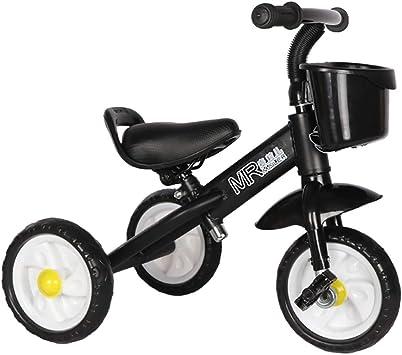 TCBIKE Rígida Triciclo niño, Planeo Aprender a Montar Bicicleta de ...